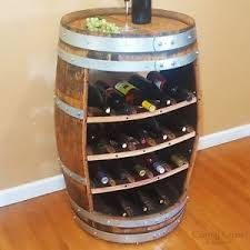 Image Ideas Image Is Loading Winebarrelwinerack18bottlerusticfurniture Ebay Wine Barrel Wine Rack 18 Bottle Rustic Furniture Home Decor Free