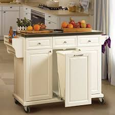 Best 25 White Kitchen Cart Ideas On Pinterest With Pertaining To