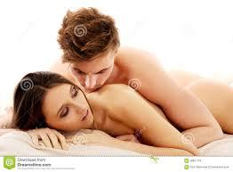 Men And Women In Bedroom Man Lying On Woman In Bedroom Stock Photo Image 58957755