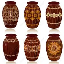 Decorative Jugs And Vases Decorative Ceramic Vases Royalty Free Cliparts Vectors And Stock