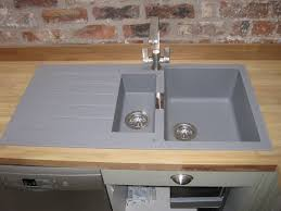 beautiful brand new schock primus d150 1 5 bowl kitchen sink waste croma grey granite