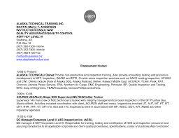 Sample Cover Letter For Testing Job