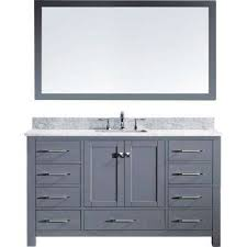 Bathroom Vanity Double Delectable Virtu USA Bathroom Vanities Bath The Home Depot