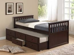 Captain Bed with Trundle and Storage | Trundle Bed with Storage | Beds with  Trundle and
