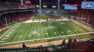 Fenway Park Football Seating Chart Fenway Park Boston Online Charts Collection