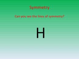 Lines Of Symmetry Powerpoint Symmetry Powerpoint