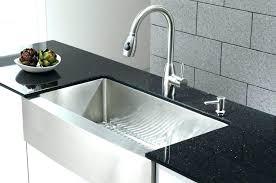 Staggering Granite Vs Steel Sink Composite  Black Stainless  R72