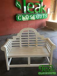 painting teak furniture conditions
