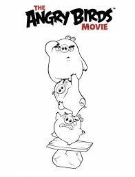 Kleurplaten En Zo Kleurplaat Van Angry Birds Movie