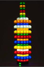 Light Stax 36 Light Stax 102 Piece Light Up Led Building Blocks Set This