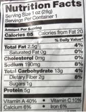 halos mandarins nutrition facts
