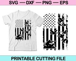 Free svg files for duck hunting camp. Men Duck Hunting American Flag Svg File Or Dxf File Make A Decal Or Ts Creativeusart