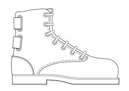 Kleurplaat Schoen Schoenen Thema Schoenen Schoenenwinkel En Kleuren