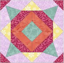 Meadow Flower 15 Inch Block Paper Template Quilting Block Pattern ... & Meadow Flower 15 Inch Block Paper Template Quilting Block Pattern PDF by  HumburgCreations on Etsy Adamdwight.com