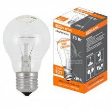 <b>Лампа накаливания</b> TDM Electric SQ0332-0037, <b>75 Вт</b>, E27 в ...