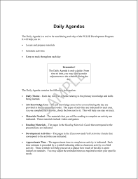 Sample Pages From Pulse Daily Agendas Booklet | Greatbiztools