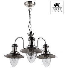 <b>Люстра подвесная Arte Lamp FISHERMAN</b> A5518LM-3SS