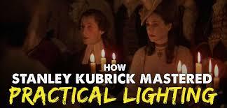 practical lighting. stanley kubrick practical lighting