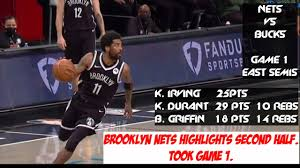 ALL NETS HIGHLIGHTS | BROOKLYN NETS VS MILWAUKEE BUCKS GAME 1 EAST  SEMIFINALS 2021 NBA PLAYOFFS - YouTube