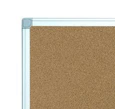 ... Cork Board With Photo Frame Large Cork Board No Frame White Framed Cork  Notice Board ...