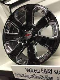 Chevy Truck Wheel Bolt Pattern Interesting 48 Inch Gloss Black Chrome 4815 GM OE CK 48 Replica Chevrolet