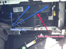 Cabin Filter Change - Attachments