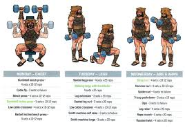 plan the rock hercules workout