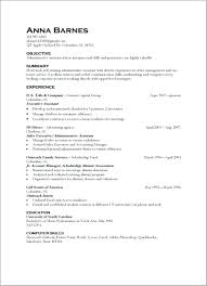 Examples Of Skills On A Resume Airexpresscarrier Com