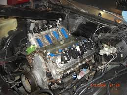 1985 monte carlo 6 0 lq4 swap ls1tech engine when i got it