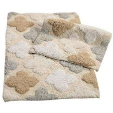alloy moroccan tiles spa 21 in x 34 in 2 piece bath rug