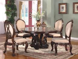Round Dining Room Table And Chairs Dining Room Interesting Luxury Dining Room Table Chairs Cozy