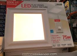 costco led light led flat panel light fixture x weekender with ceiling light fixtures costco led