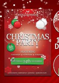 Holiday Party Flyer Template Free Awesome Customize 72