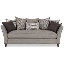 living room terrific free neutral simmons flannel charcoal sofa with pillows helkk com at simmons