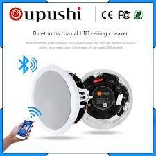 OUPUSHI VX8 C bluetooth loa trần 10 120 wát chất lượng Cao với Âm Bass và  Treble nhà nền loa trong trần loa|Soundbar