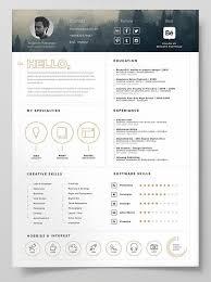 7 Best 简历 Images On Pinterest Design Resume Resume Design And