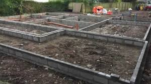 How To Build House Foundations Uk