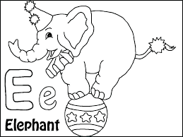 Elephant For Coloring Elephant Color Sheet Elephant Color Pages