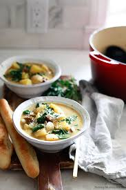 this zuppa toscana inspired by olive garden got a healthy vegan update this hearty potato