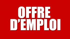 نتيجة بحث الصور عن offre d'emploi