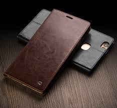 huawei honor note 8. huawei honor note 8 (edi-al10) classic leather wallet case by qialino