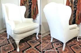 t cushion chair slipcover slipcover wing chair slipcover by chair slipcovers without t cushion patio chair