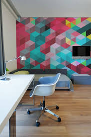 wall design ideas for office. Awesome Wall Murals Dbmuralaaaronalex72dpi7 Techoffice Mural Is The Ultimate Canvas For These Graphic Home Office Ideas Design G