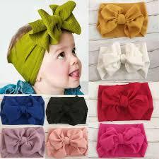 Kids <b>Girls</b> Baby <b>Headband</b> Toddler Lace Bow Flower Hair Band ...