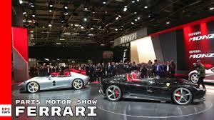 Ferrari At Paris Motor Show 2018 Youtube