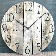 rustic large wall clock rustic wall clocks best large wall clocks ideas on wall clocks wall