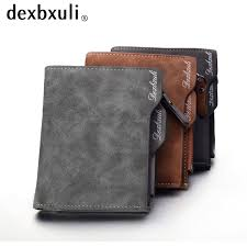 wallet men soft leather