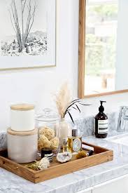 Decorative Bathroom Tray 60 tips for updating your bathroom with the Crate and Barrel Gift 25