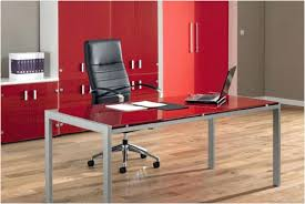 glass office tables. Modern Glass Office Desk » Unique Tables Stunning Plain Computer Magnificent Home