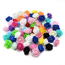 NWSX Fake <b>Flowers</b> Heads in bulk wholesale DIY Handmade <b>Foam</b> ...